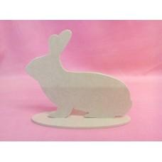 4mm MDF Rabbit on a base